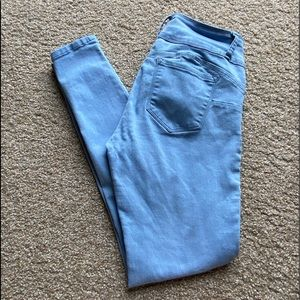 Juniors Wax Jeans Butt I Love You 3 Button Size 11